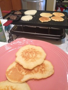fluffy pancakes and no burn