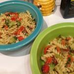 Veggie pasta (shhh, it's from leftovers)