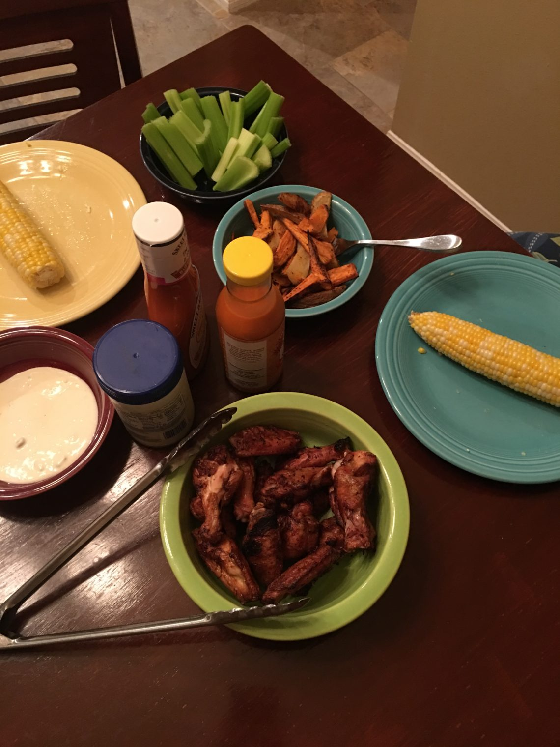 Grilled Chicken Wings – Why Didn't I Think of That?