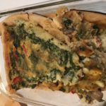 Leftovers of quiche