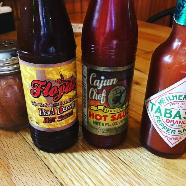 Lifes choices hotsauce peppers cajunfood tabasco cajunchef floydscajunseafood texasgulfcoast gulfcoasthellip