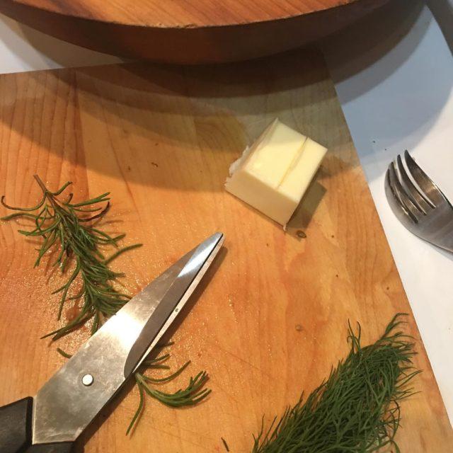 Herbs and butter for the steak steak rosemary dill butterhellip